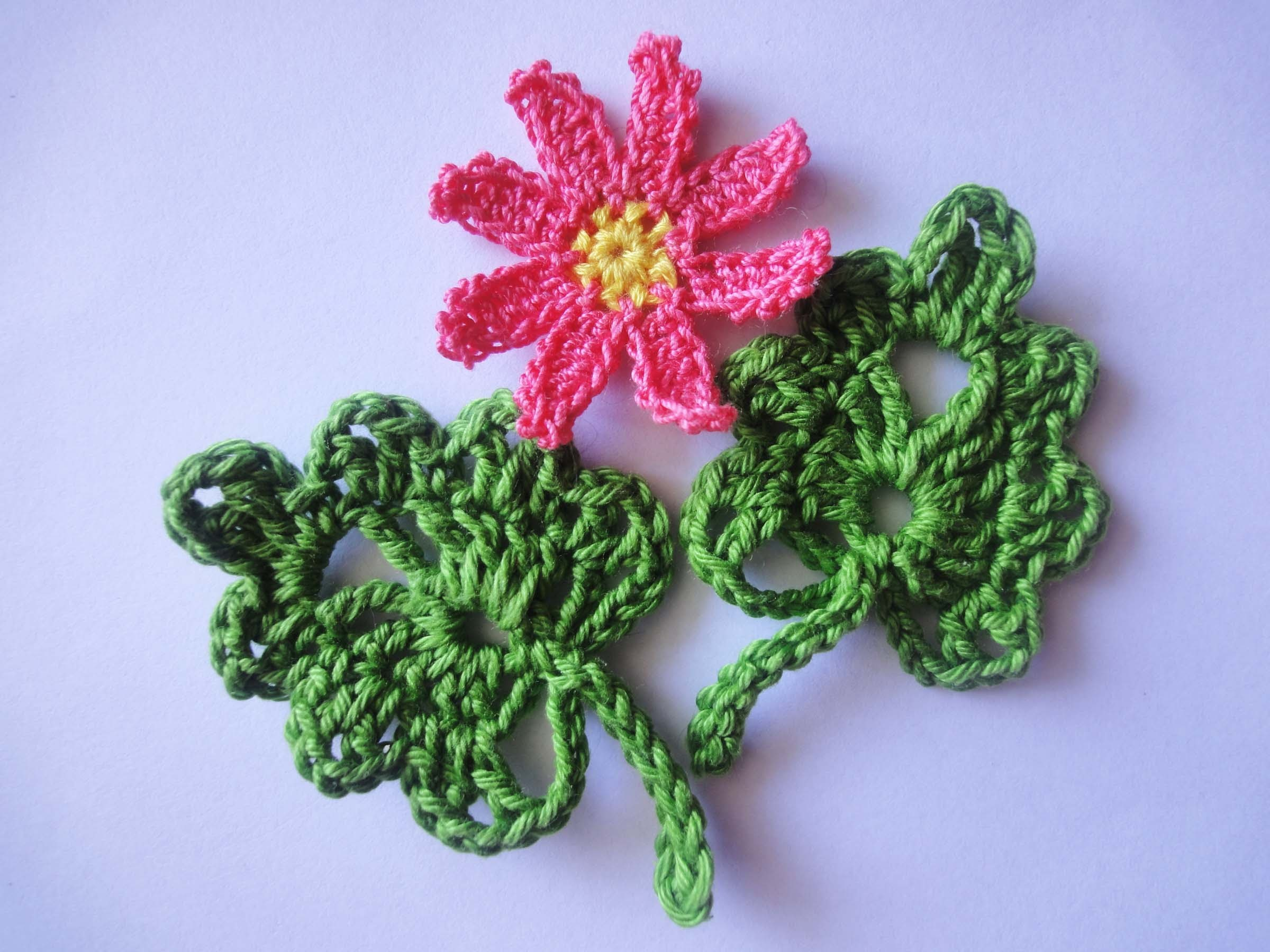 ЛИСТОЧЕК LEAVES Crochet