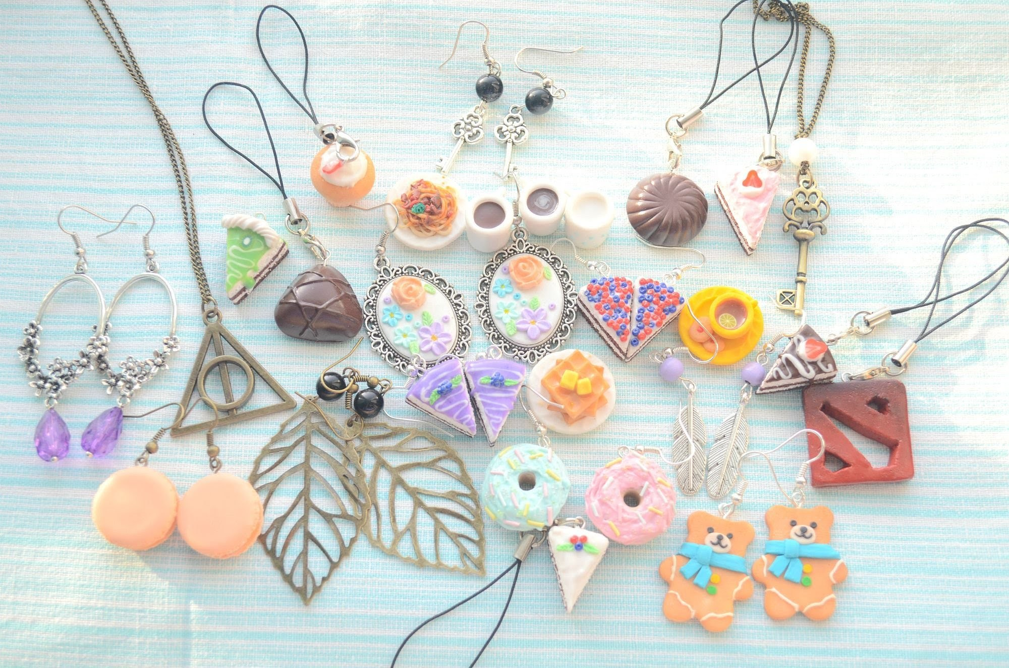 My jewelry from polymer clay 4^^