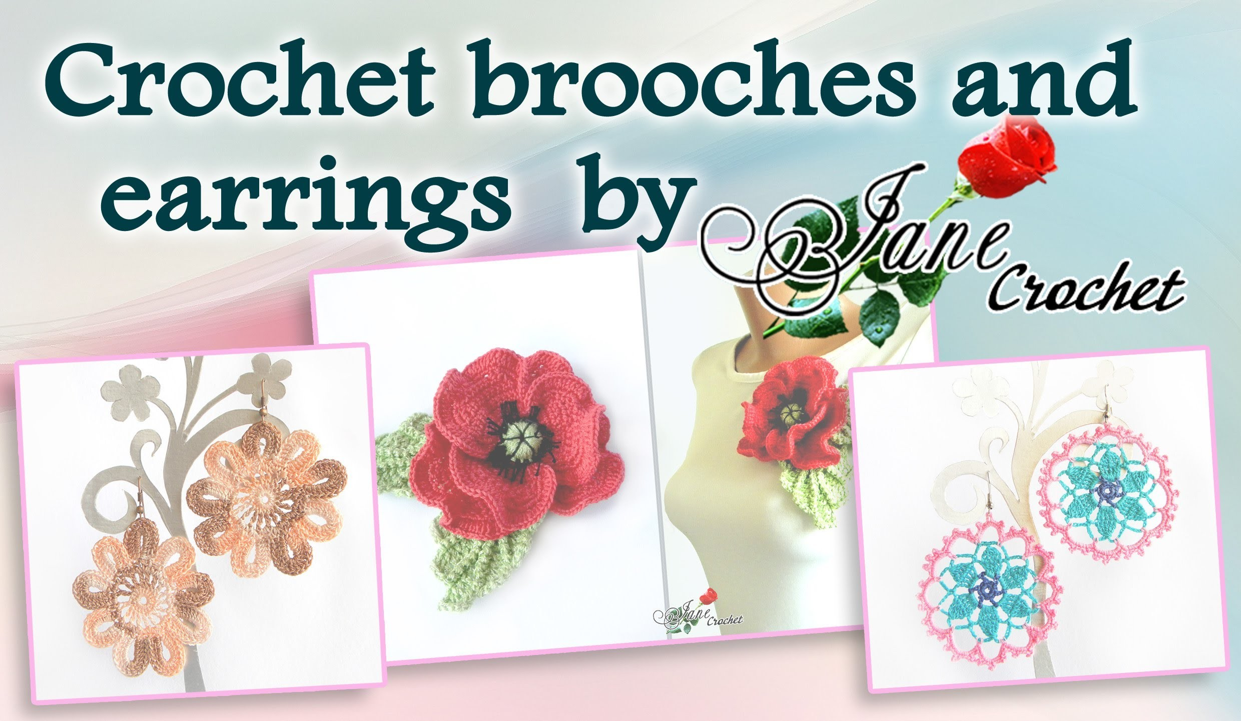 Crochet accessories and jewelry by Jane