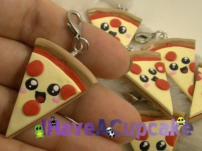 Kawaii Pizza Charms