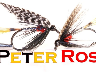 "Fly tying wet fly ""Peter Ross"" (вязание мушек, мокрая мушка ""Peter Ross"")"
