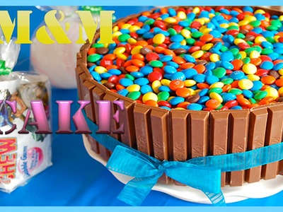 HandWork - Kit Kat & M&M Cake - HOW TO VIDEO