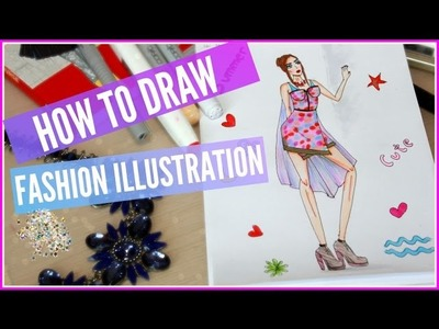 .HOW TO DRAW FASHION ILLUSTRATIONS.