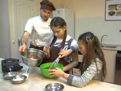 Как сделать шоколадный фандан.  How to make chocolate Fendant
