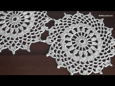 How to crochet tunic  Motive for tunic sweater top  Part 1