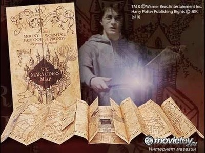 Как сделать Карту Мародеров полную длинную? Harry Potter DIY