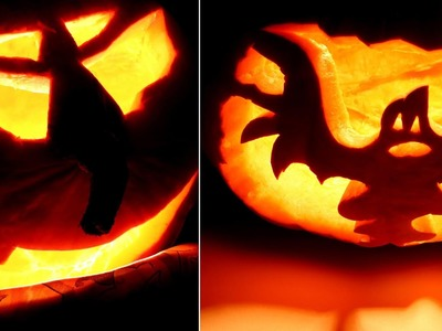Pumpkin Carving Tutorial for Halloween