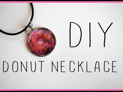 DIY:DONUT NECKLACE