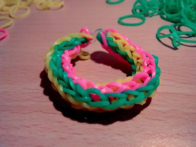 RAINBOW LOOM BANDS, 3colors, Armband Gummibänder,bracelet rubber