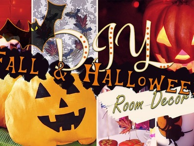 DIY: Fall Room Decor. Halloween Room Decor.Осенний декор комнаты|Fosssaaa