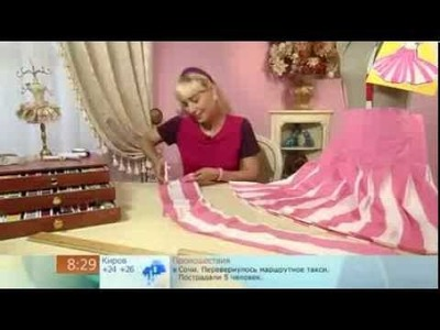 Ольга Никишичева  Сшить юбку в складку  за 1 час Sew the skirt in 1 hour