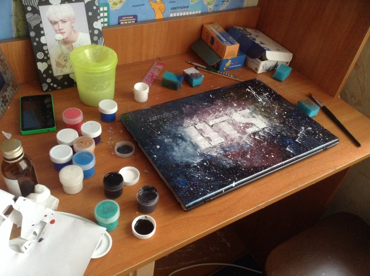 K-POP D.I.Y|DECOR LAPTOP BTS