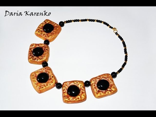 DIY Ожерелье скифов. Мастер класс \ Necklace Scythians