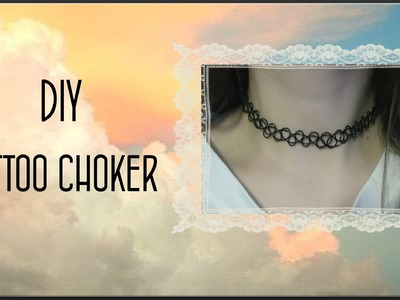 DIY Tattoo Choker. Плетем Тату Чокер