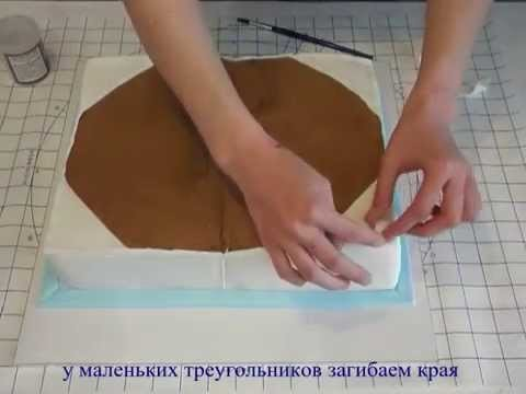 Fairy Cake №1   How to make book cake Торт книга мастер класс