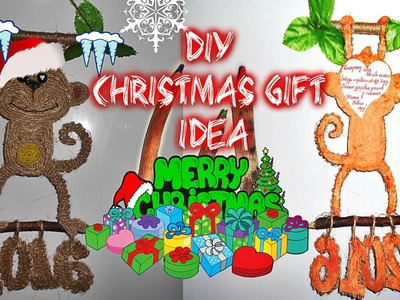 DIY Christmas. New Year  Gift Idea. Идея подарка на Новый год 2016