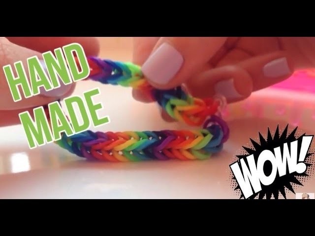 Hand Made #2 | Rainbow Loom ( рыбий хвост )