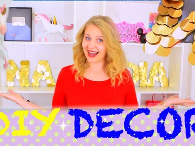 DIY Room Decor | Украшения Для Комнаты!