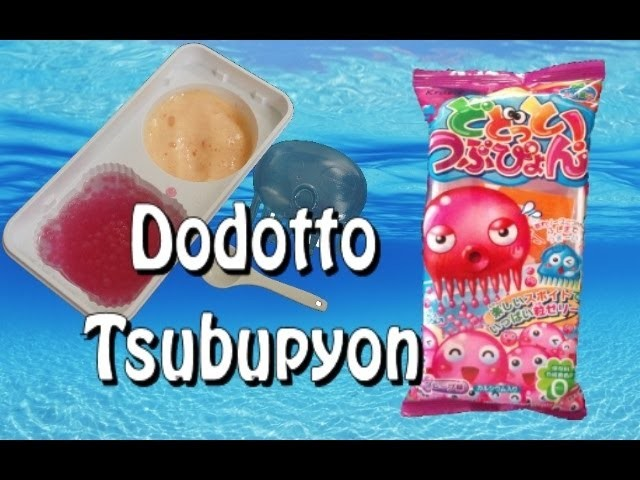 Dodotto Tsubupyon - DIY Japanese Candy Kit