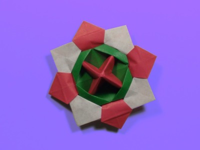 How to make an origami spinning top - tutorial