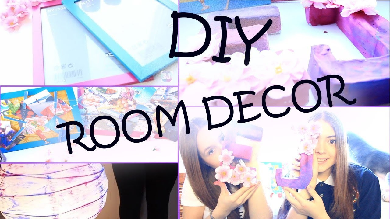 DIY: Spring room decor♥EmilyJane