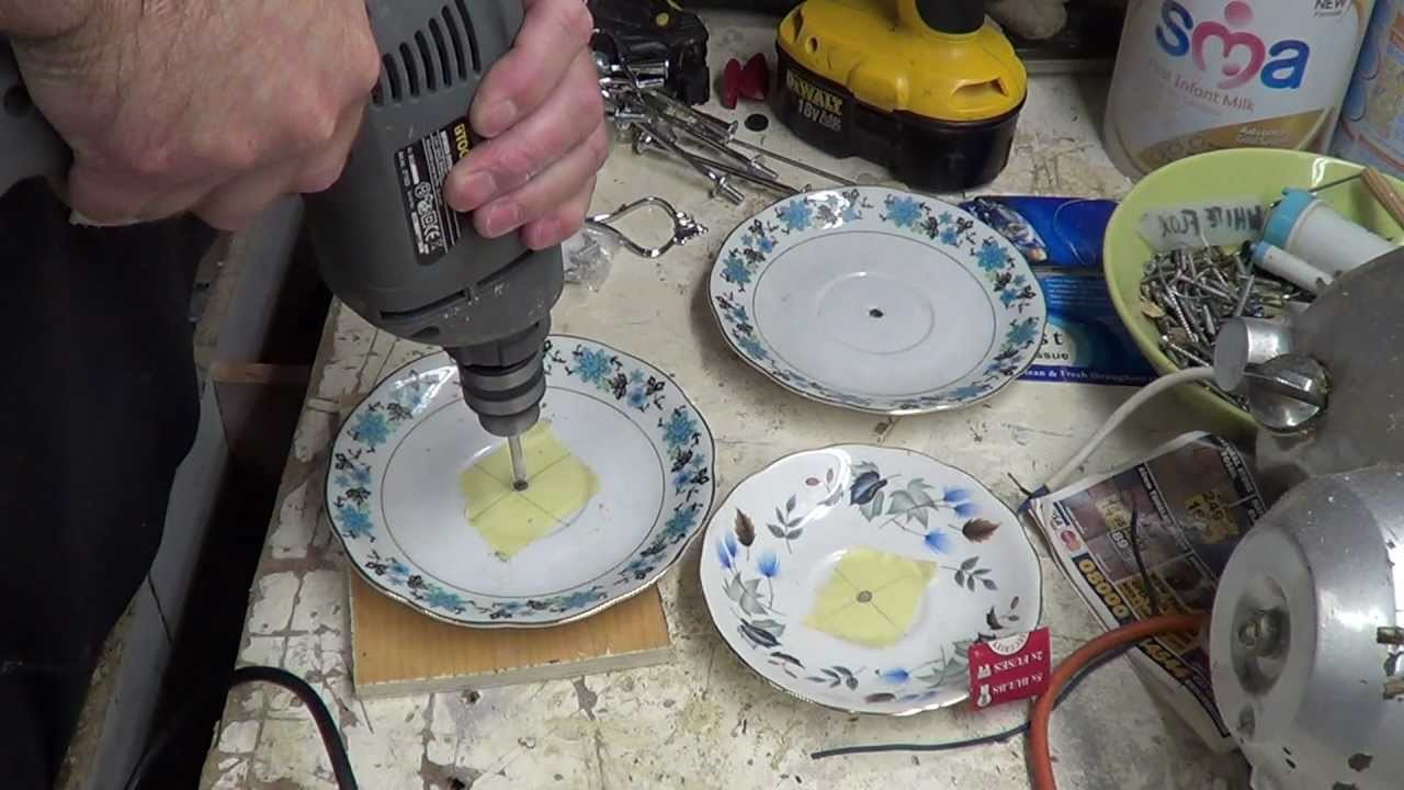 Making Cake Stands (Practice run)