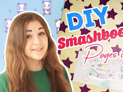 DIY SMASHBOOK | PAGES IDEAS | ОФОРМЛЯЕМ СТРАНИЧКИ| LET'S MAKE IT WITH TANYA