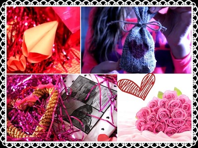 ❤❤Сделай сам: подарки на день св. Валентина │DIY: Gift Ideas! Valentine's Day❤❤