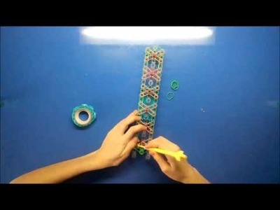 DIY Lesson 1.01 How to do loom bands bracelets.