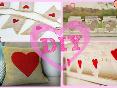 DIY♥ Декор комнаты ♥ Valentine's Day!♥by Dana Tinker