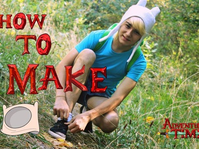 "DIY .Как сделать ШАПКУ Финна - ""Время приключений"".How to make a Finn's hat ""Adventure time"""