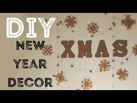 DIY украшения на Новый Год | DIY Christmas.New Year decoration | Beauty Blanc