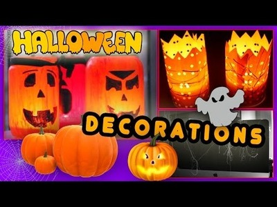 DIY - HALLOWEEN DECORATIONS !. Декорации для Хэллоуина :D