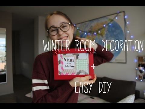 CHRISTMAS ROOM DECORATION. EASY diy. Mia's made