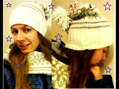 DIY:ШЬЕМ ШАПКУ и ШАРФ из СТАРОГО СВИТЕРА\SEW THE HAT AND SCARF FROM SWEATER