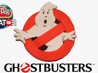 How to make Play-doh Ghostbusters Logo - Playdoh Логотип Охотники за привидениями
