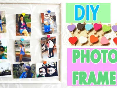 DIY: Photo Frame for 2$! Super Easy and Fast!