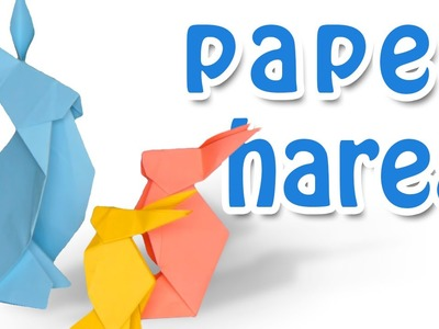 How to make paper hare