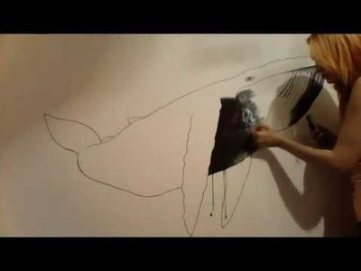 Speed drawing|Whale|Watercolor