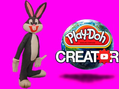 How to make Playdoh Bugs Bunny - Багз Банни из Playdoh DIY