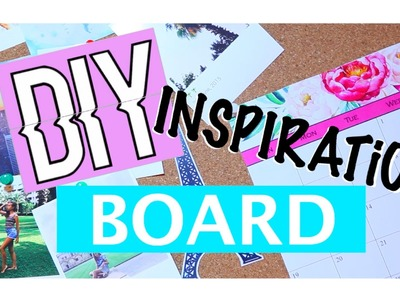 DIY inspiration board | Kate Cooper