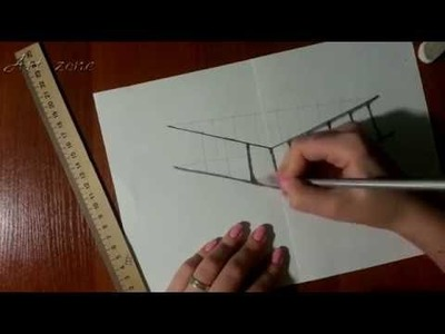 How to draw a 3D picture!