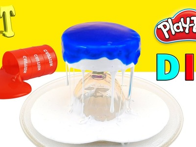 DIY ТОРТ GALAXY  PLAY DOH  от #Playattoys