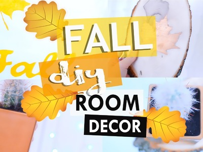 DIY Tumblr Room Decor ! \\ DIY Fall Room Decor ! \\ Украшение комнаты к осени !