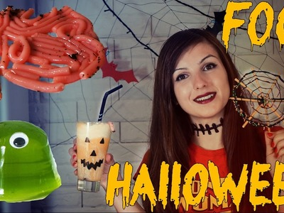 DIY Halloween Party. Десерты на Хэллоуин. Червяки. Желе Б.О.Б. Паутина. Фанта-Джек
