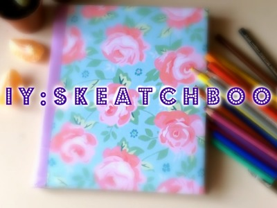 DIY: Sketchbook своими руками || Do It Yourself