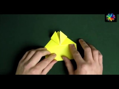 Learn origami make a paper Frog  YouTube