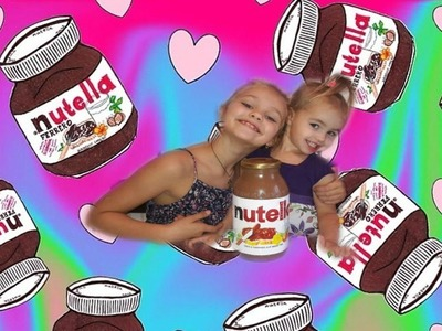 DIY :  ГИГАНТСКАЯ БАНКА NUTELLA . DIY : GIANT NUTELLA