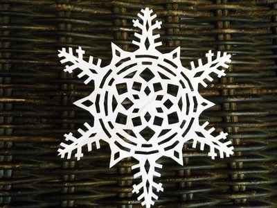 How to make a paper snowflake СНЕЖИНКА ИЗ БУМАГИ МАСТЕР КЛАСС How to cut snowflakes