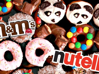 ГОТОВИМ DONUTS ПОНЧИКИ БАУНТИ, M&M'S, KINDER BUENO, NUTELLA | SWEET HOME